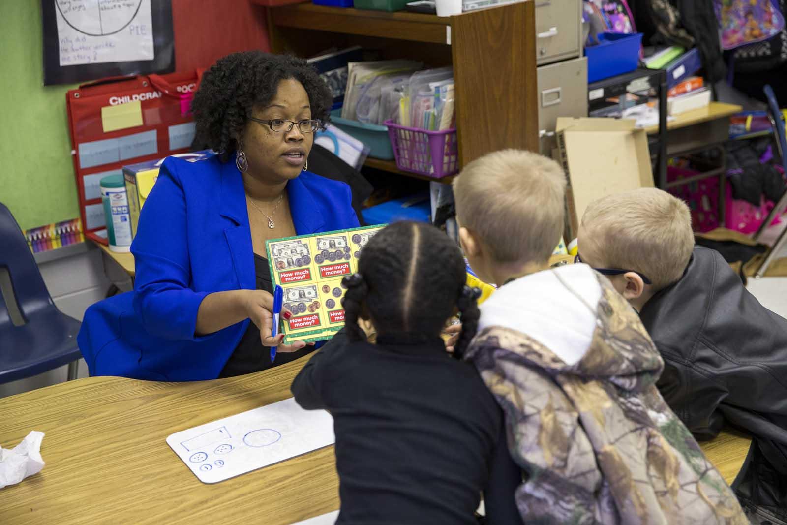 Altra Witt teaches in Madison Heights Elementary School